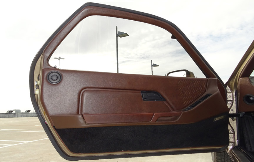 Porsche 928 brown door panels