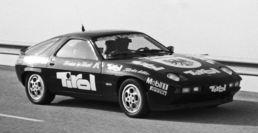1982 Nardo, Porsche 928 S record run
