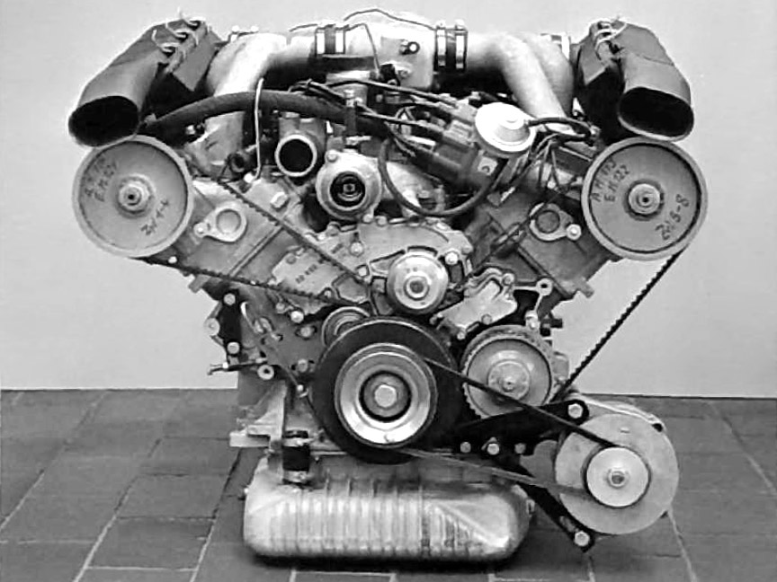 Porsche 928 prototype engine