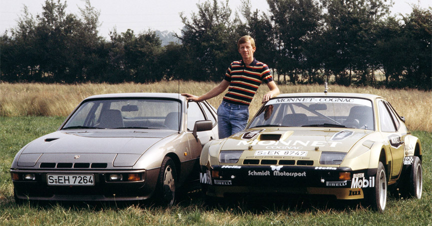Walter Röhrl, Porsche 924 Turbo and 924 GTR customer rally car
