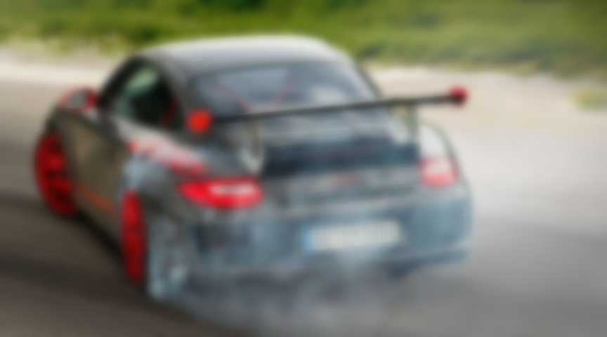 Porsche 911 997.2 GT3 RS 3.8 burnout