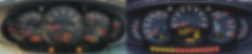 Instrument cluster: 911 996 Carrera 3.4 vs 3.6