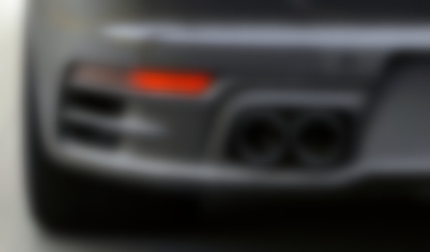 Porsche 911, model year 2019 (992-generation) exhaust with double twin-pipe ends