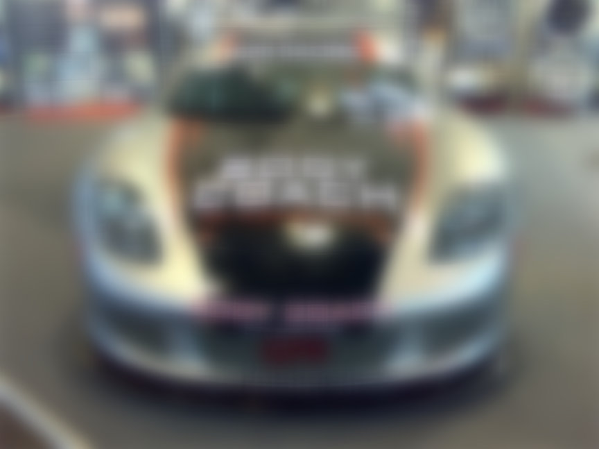 Porsche Carrera GT racing car
