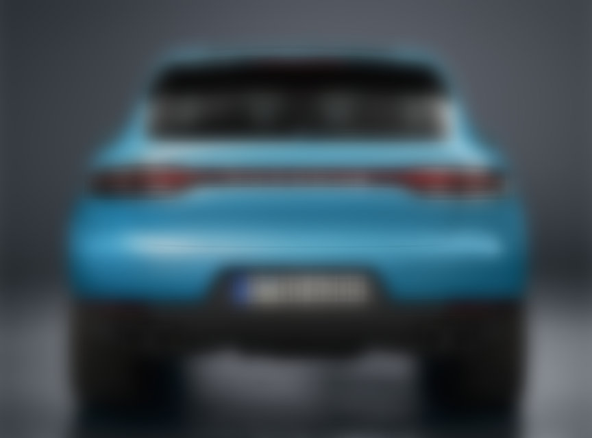 Porsche Macan 95B.2 rear end without model designation