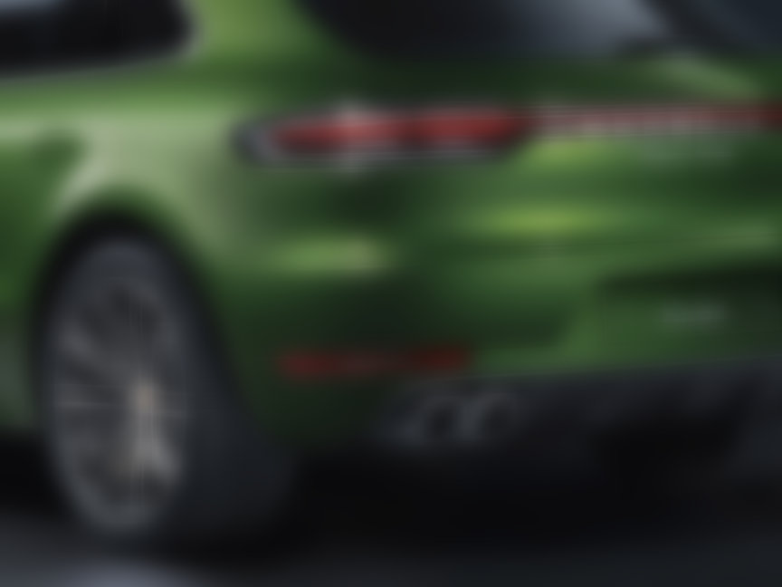 2020 Porsche Macan Turbo 2.9 exhaust pipes