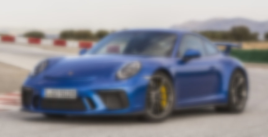 Porsche 911 991 GT3 4.0 blue metallic